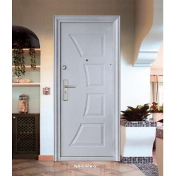 Portone blindato porta ingresso anta 64 mm modello 644 A color Rovere sbiancato