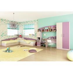 Cameretta bambini camera bimbi letto contenitore Thomas design colorata