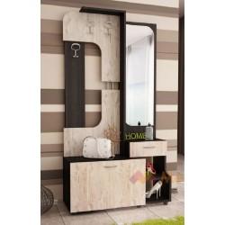 Mobile ingresso moderno specchio appendiabiti cassetto modello Viva design
