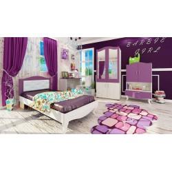 Cameretta bambini camera letto ragazzi ragazze modello Barbie design moderno