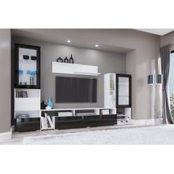 Parete attrezzata moderna mobile soggiorno modello City 6001 design elegante