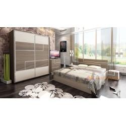Camera da letto matrimoniale moderna modello Torino