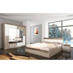 Camera da letto matrimoniale moderna modello City 496