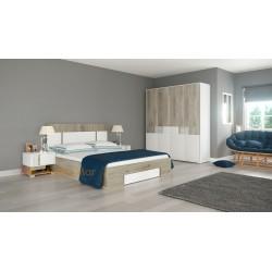 Camera da letto matrimoniale moderna modello City 7020